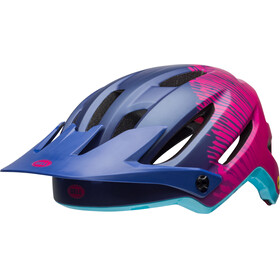 Bell Hela MIPS Joyride Fietshelm roze/blauw